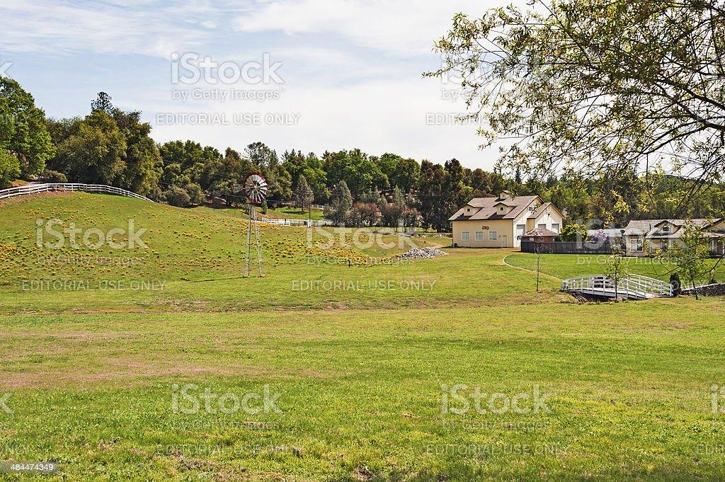 County Estate stock photo