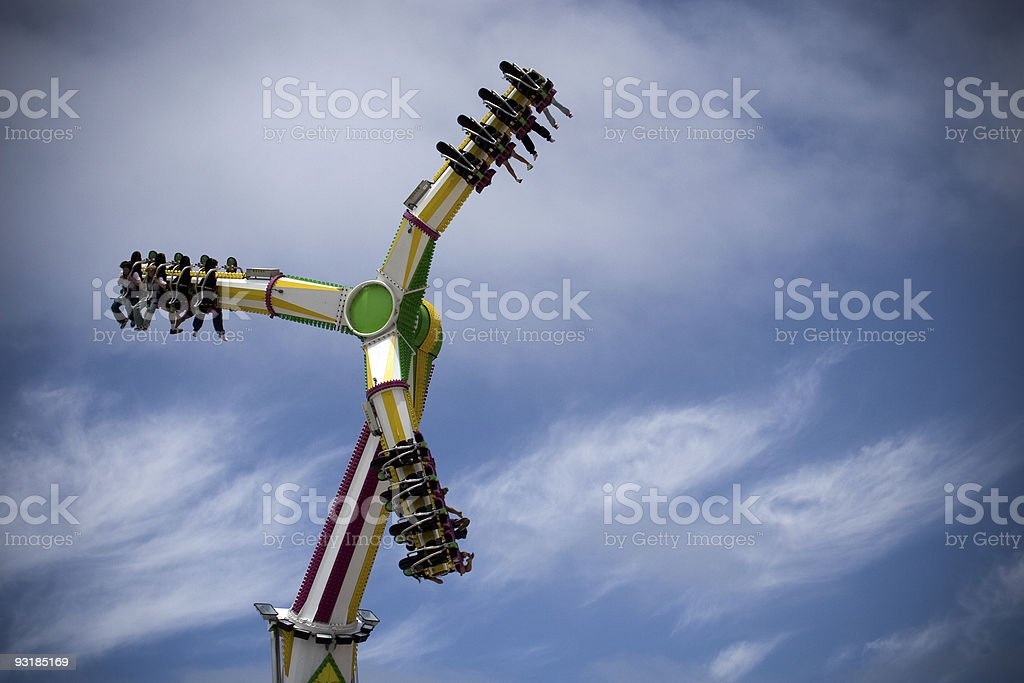 County Fair Carnival Ride royalty-free stock photo