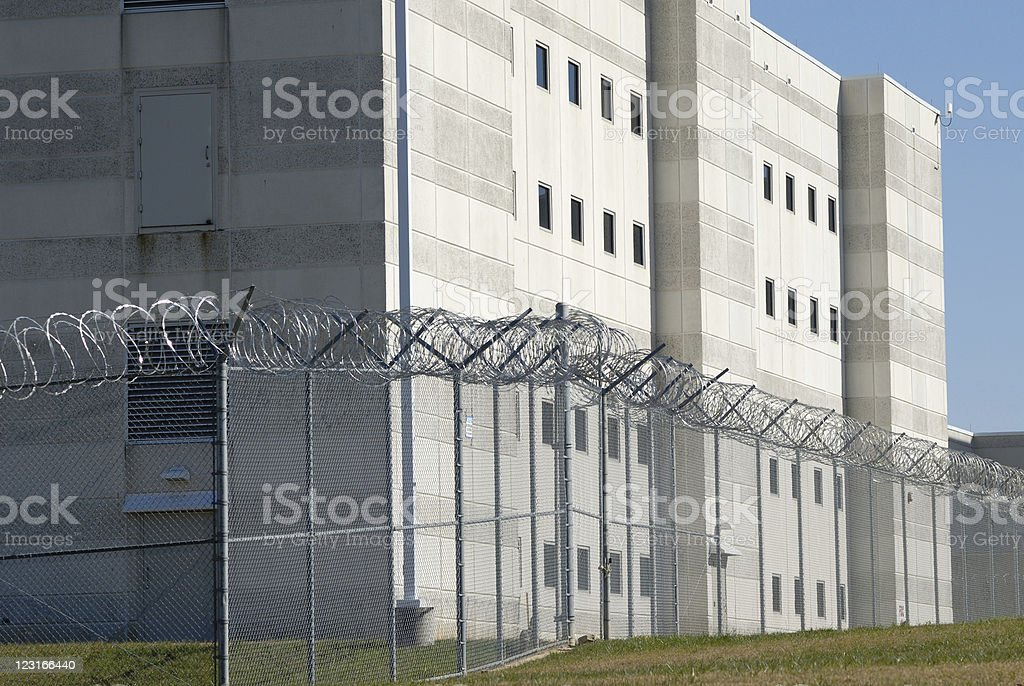 County Jail royalty-free stock photo
