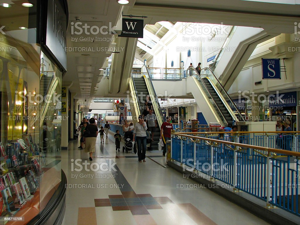 County Mall Shopping Centre stock photo