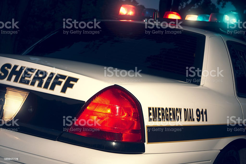 County Sheriff stock photo