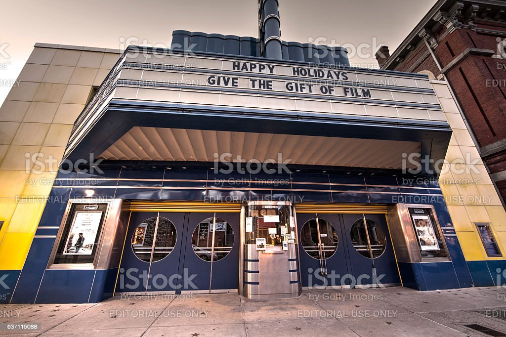 County Theater stock photo