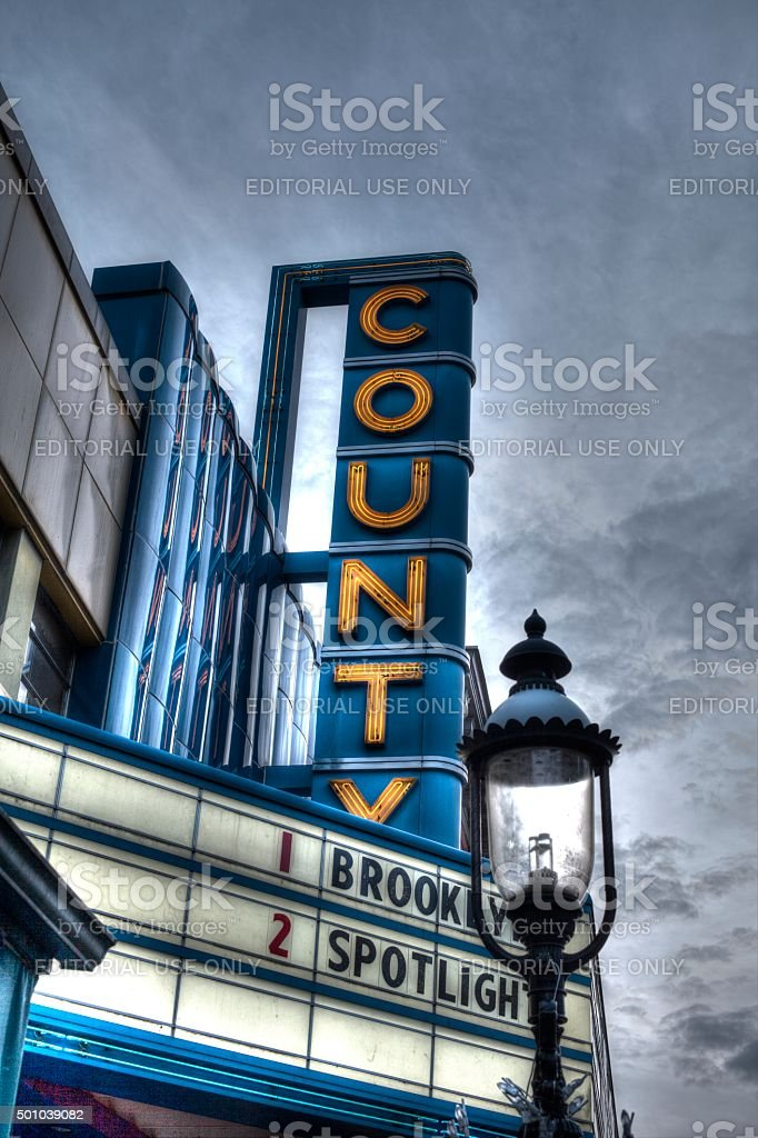 County Theatre stock photo