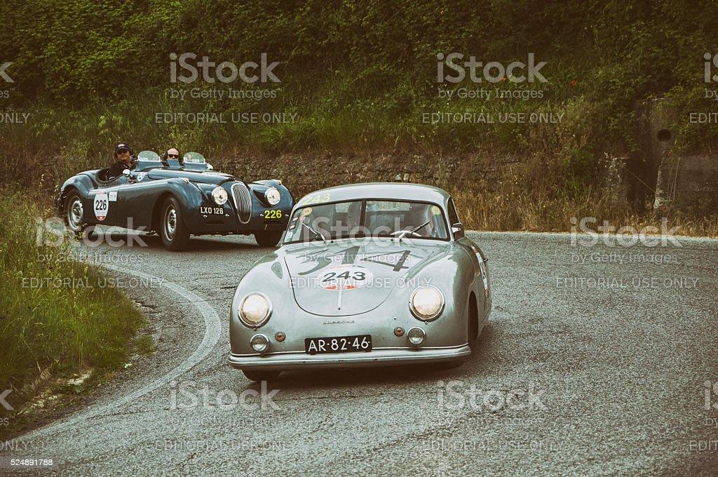 PORSCHE 356 1500 Coupé 1952 stock photo