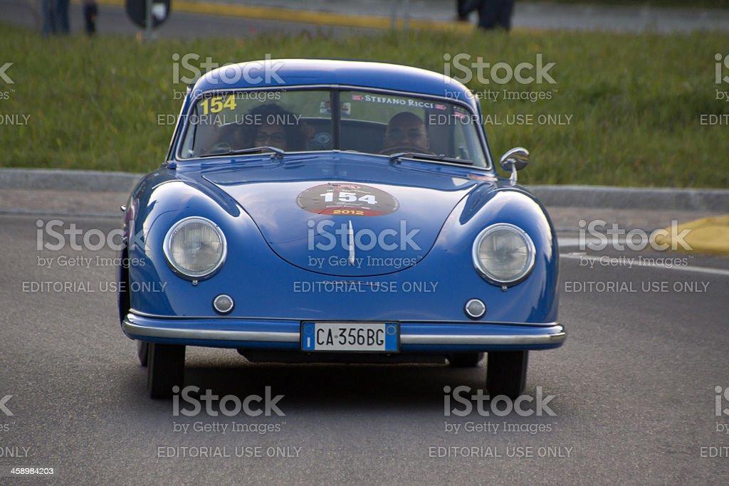 PORSCHE 356 1500 Coupè Gran Turismo vintage car (year 1952) stock photo