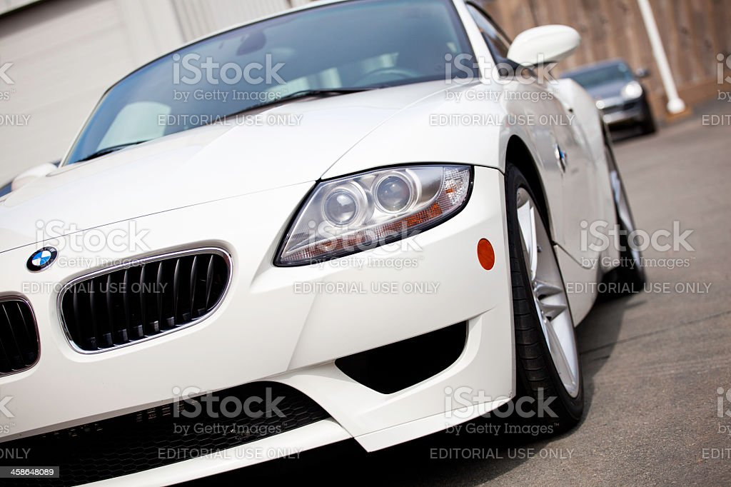 BMW Z4 M Coupe stock photo