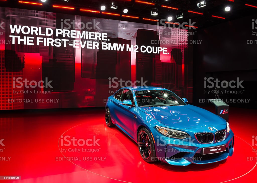 2016 BMW M2 Coupe stock photo