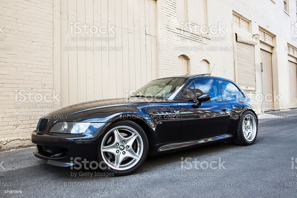 BMW M Coupe Z3 royalty-free stock photo