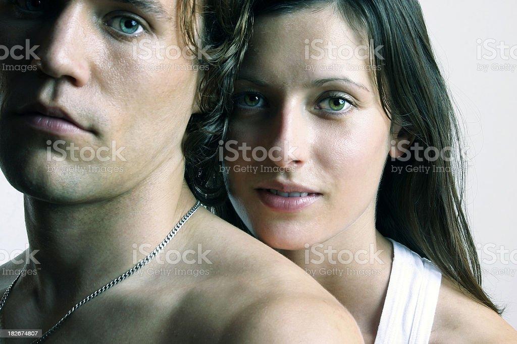 Couple 1 royalty-free stock photo