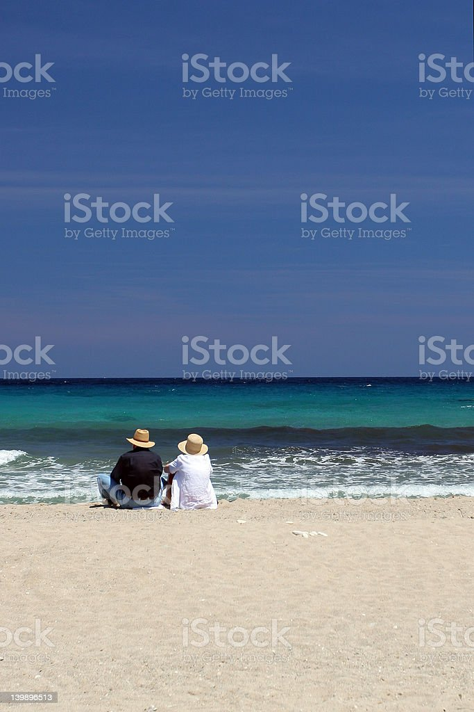 Couple akin stock photo
