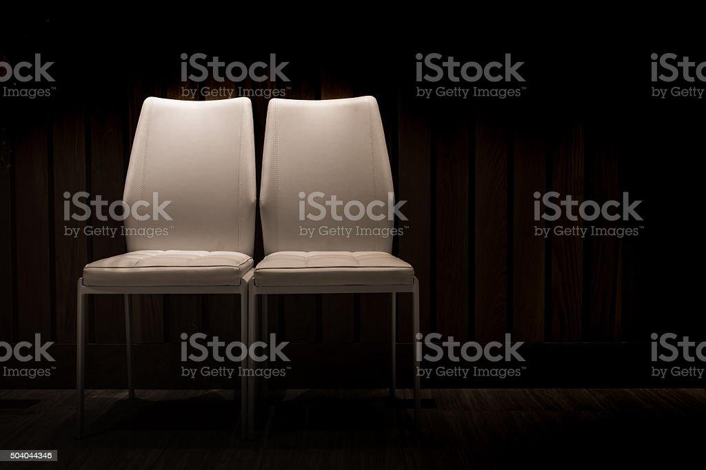 Couple chair stock photo