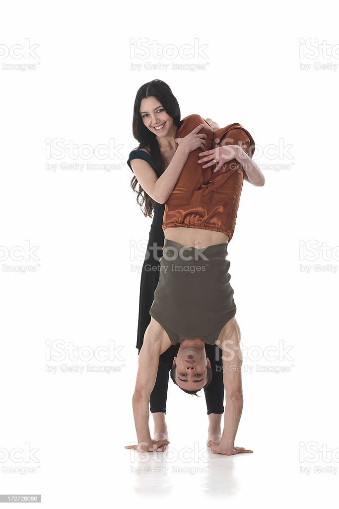 couple dance royalty-free stock photo