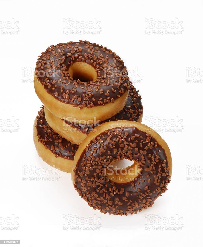 Couple donuts. royalty-free stock photo