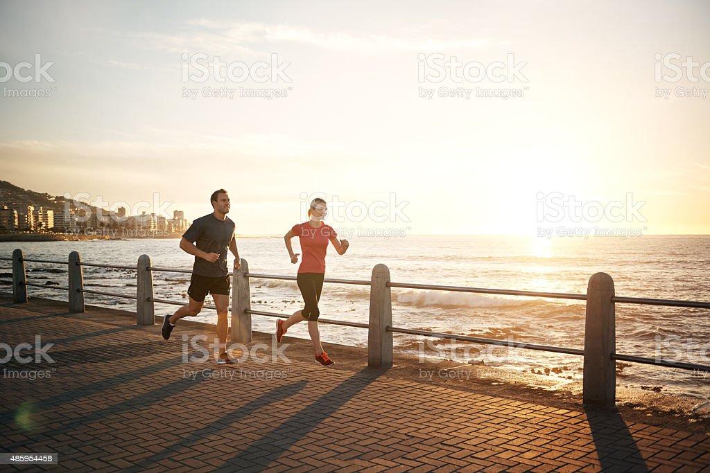 Couple fitness stock photo