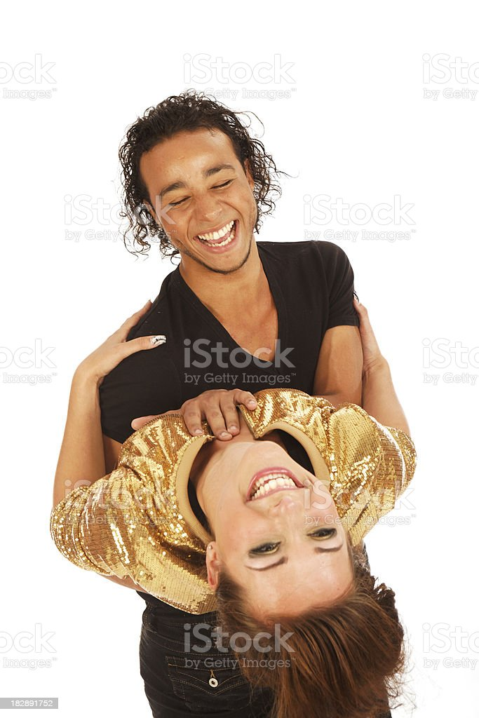 couple fun royalty-free stock photo