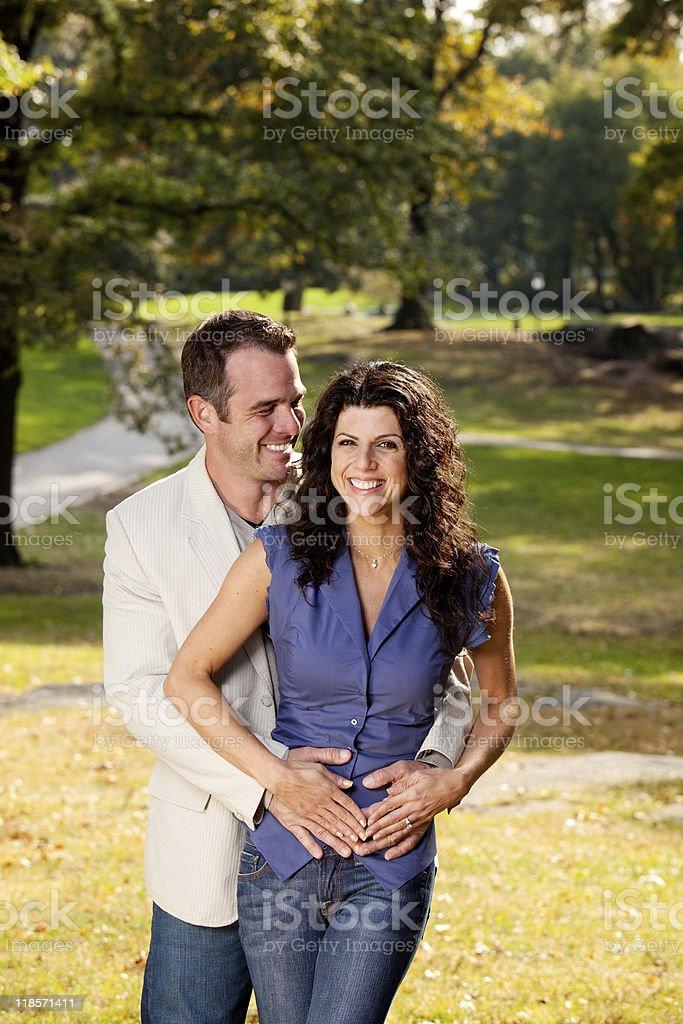 Couple Hug royalty-free stock photo