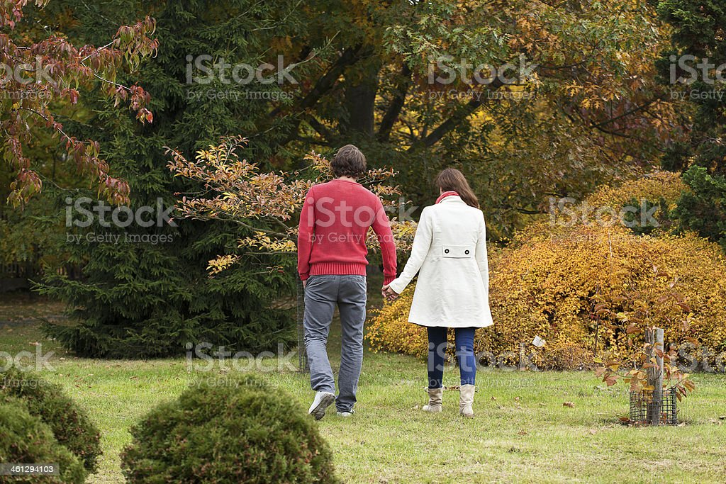 Couple hugging each other royalty-free stock photo