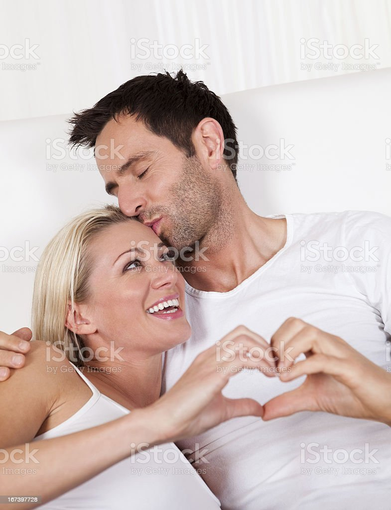 Couple in love royalty-free stock photo