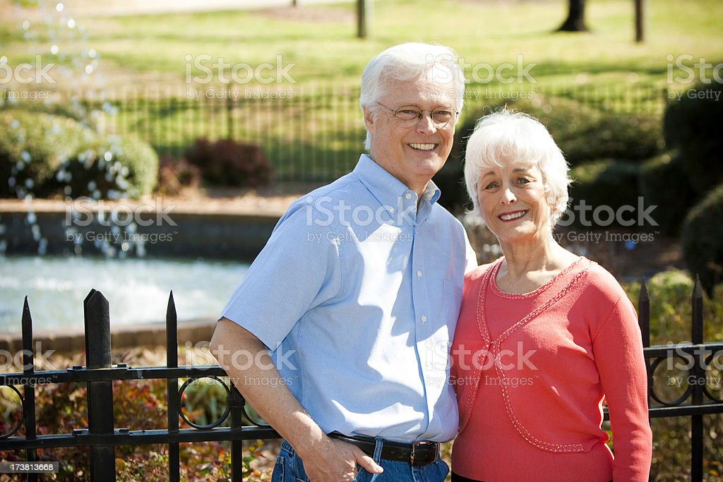 Couple in Retirement royalty-free stock photo