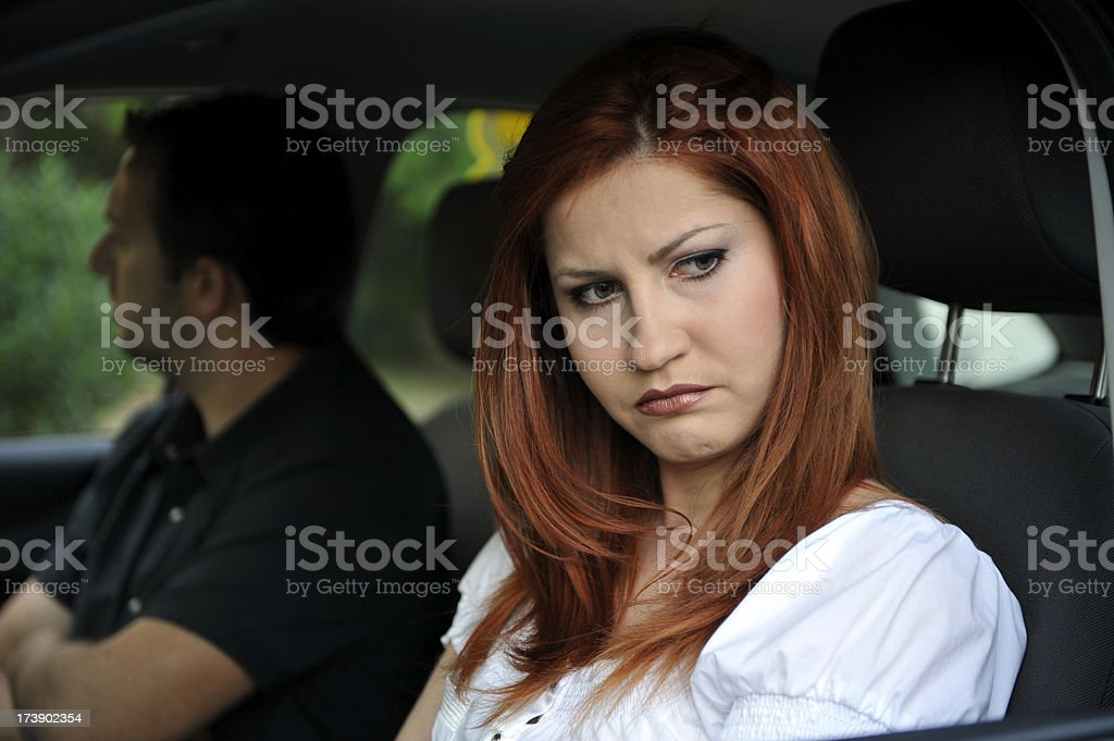 couple in trouble royalty-free stock photo