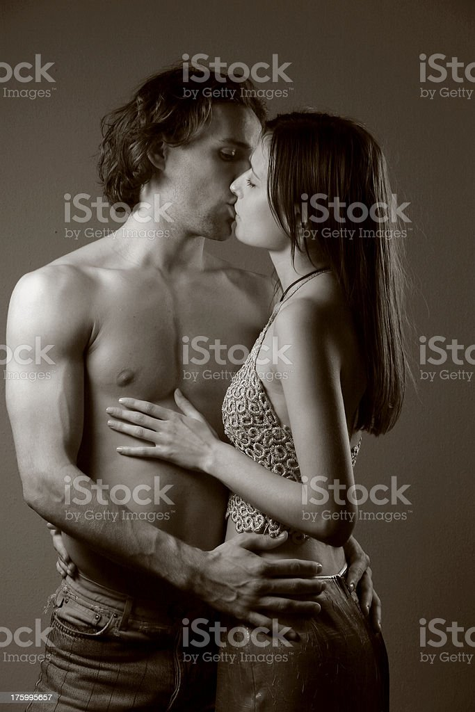Couple inlove royalty-free stock photo