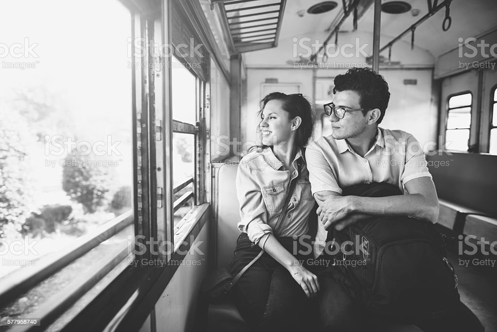 Couple Love Dating Togetherness Happiness Concept stock photo