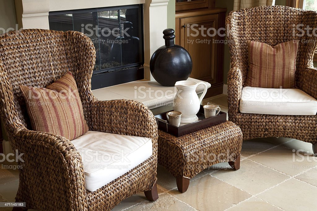 Couple of Chairs royalty-free stock photo