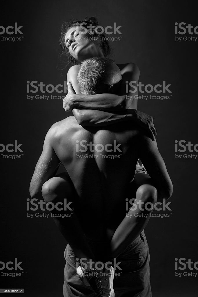 Couple of lovers stock photo