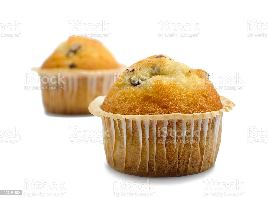 Couple of muffins royalty-free stock photo