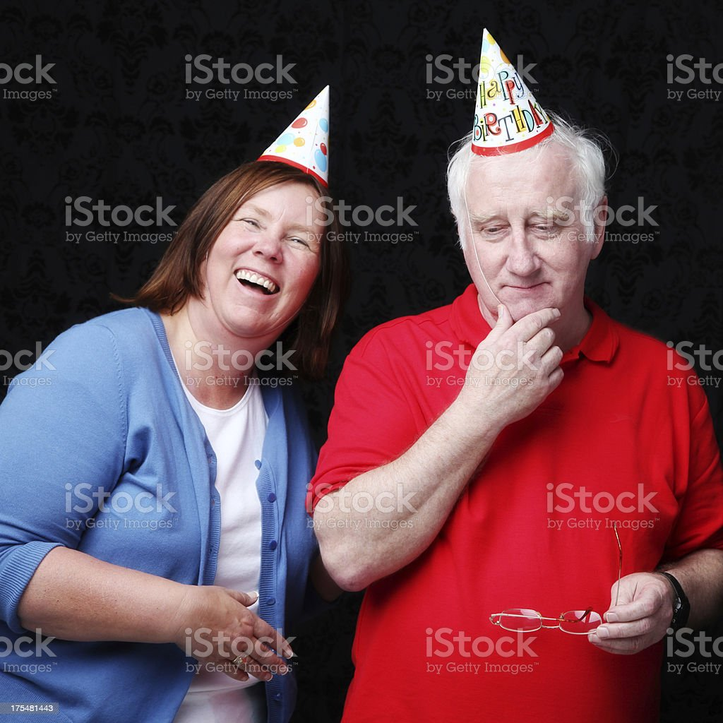 Couple or Siblings Having Fun stock photo