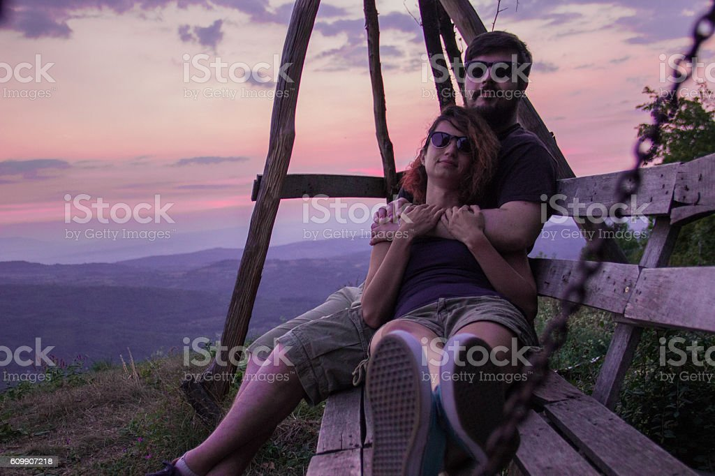 Couple royalty-free stock photo