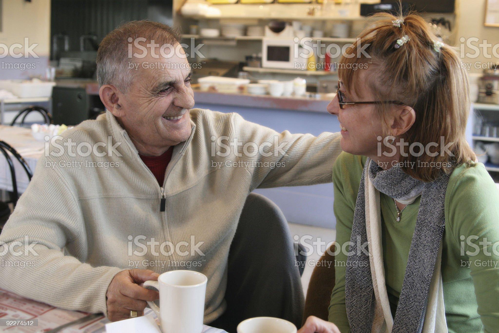 Couple royalty-free stock photo