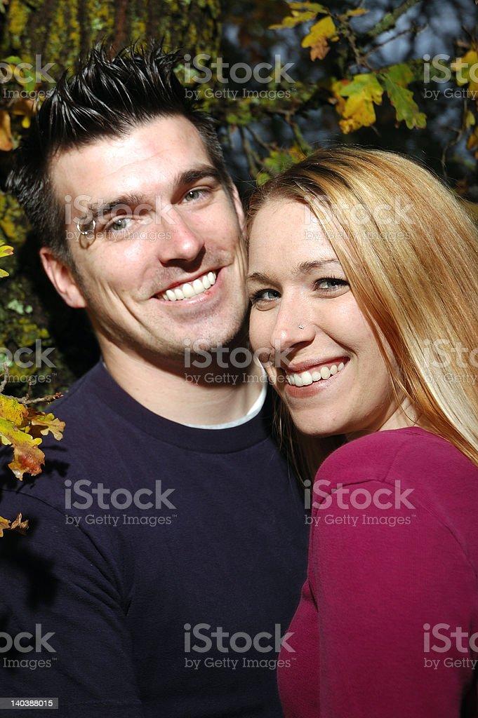 Couple Portrait stock photo