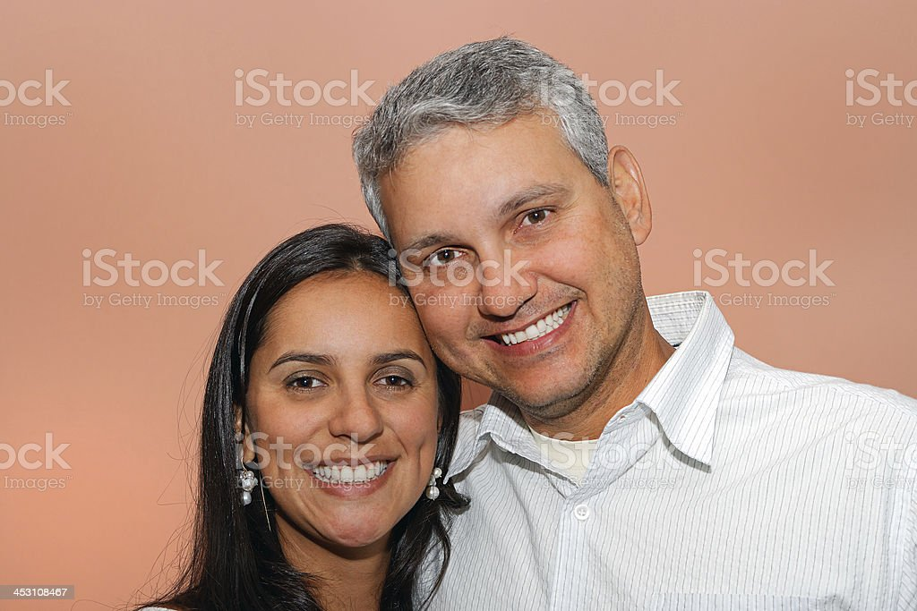 Couple portrait stock photo