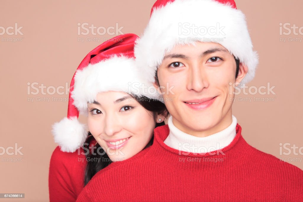 Couple portraits stock photo