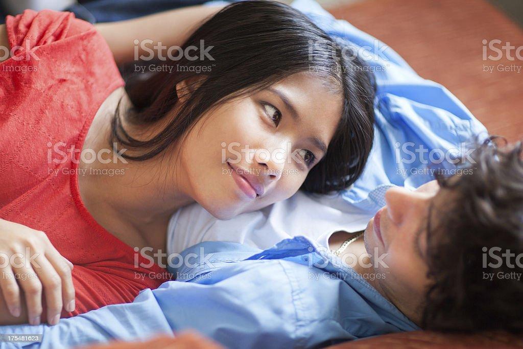 Couple Relaxing stock photo