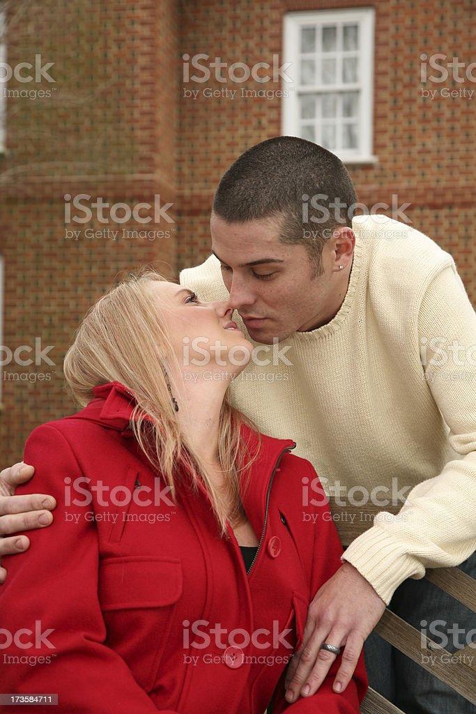 Couple Series royalty-free stock photo