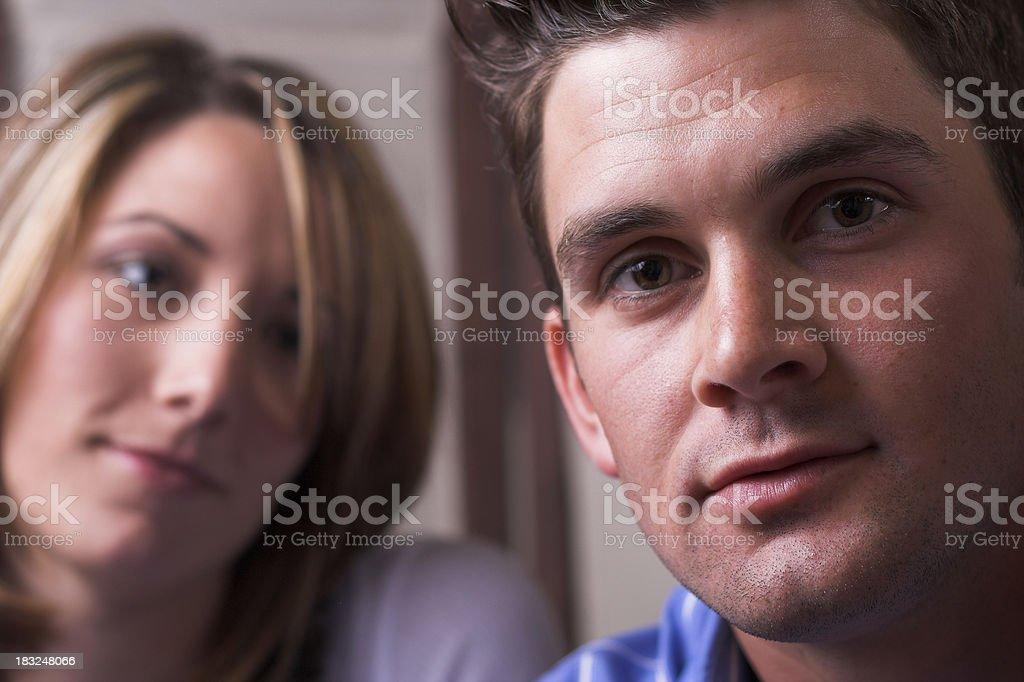 Couple Testimonial stock photo