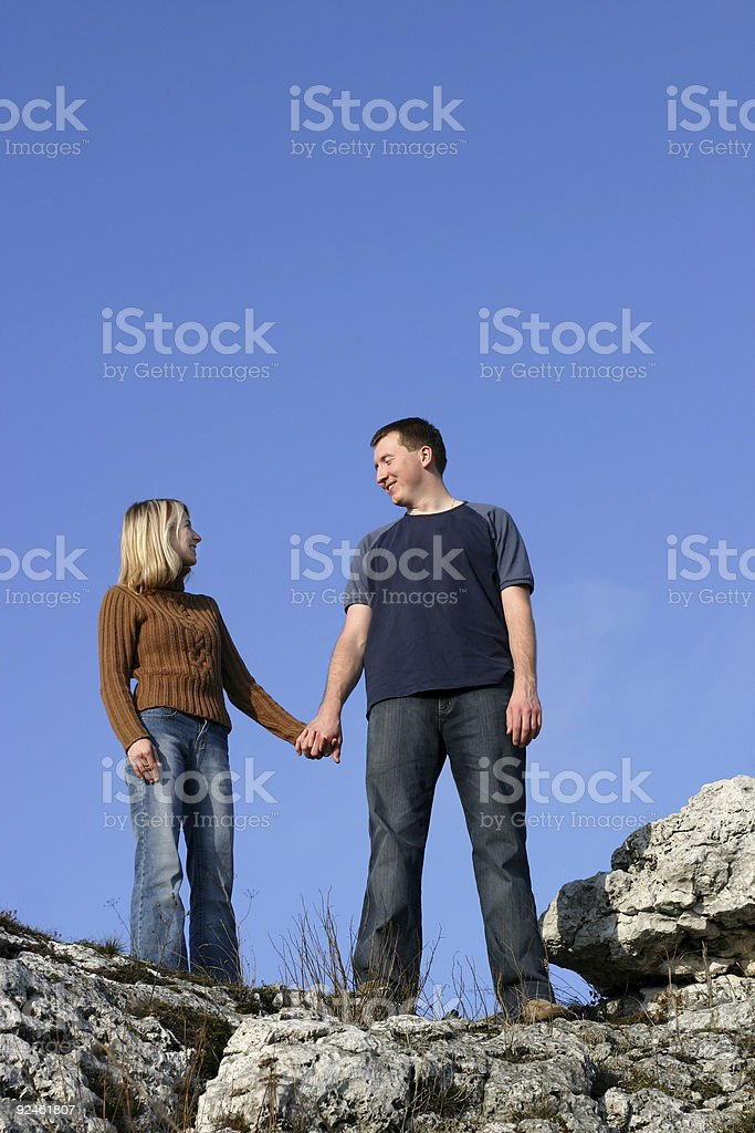 Couple - Together royalty-free stock photo