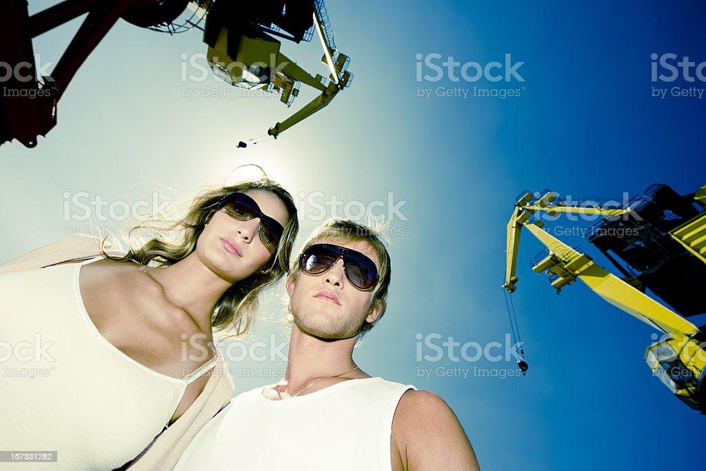 Couple Urban Lifestyle royalty-free stock photo