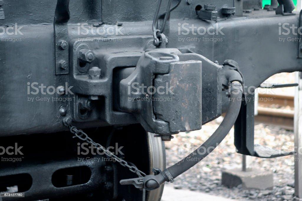 Coupler stock photo