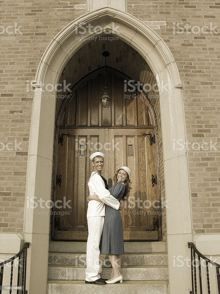Couple's Day stock photo
