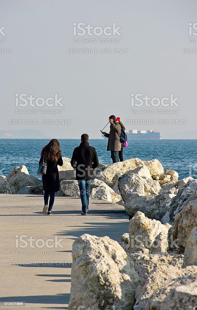 Couples stock photo