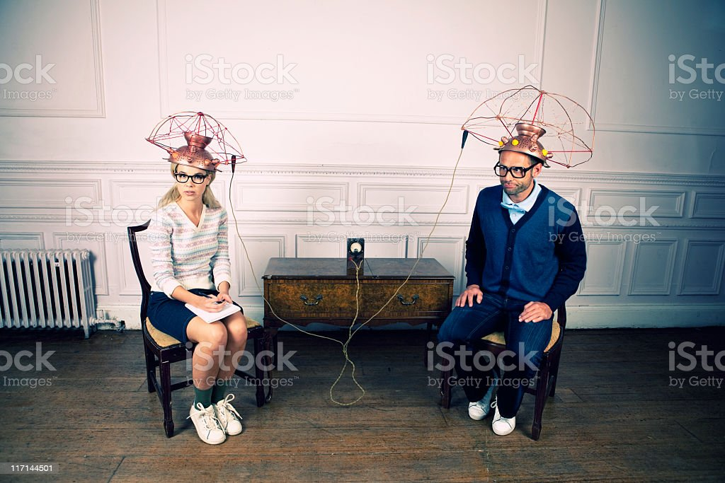 Couple's Therapy royalty-free stock photo
