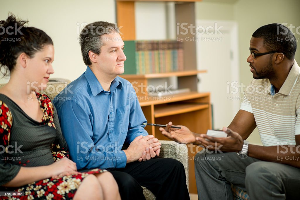 Couples Therapy royalty-free stock photo