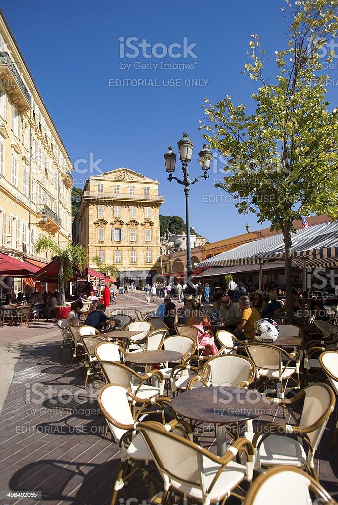 Cours Saleya, Nice, France royalty-free stock photo