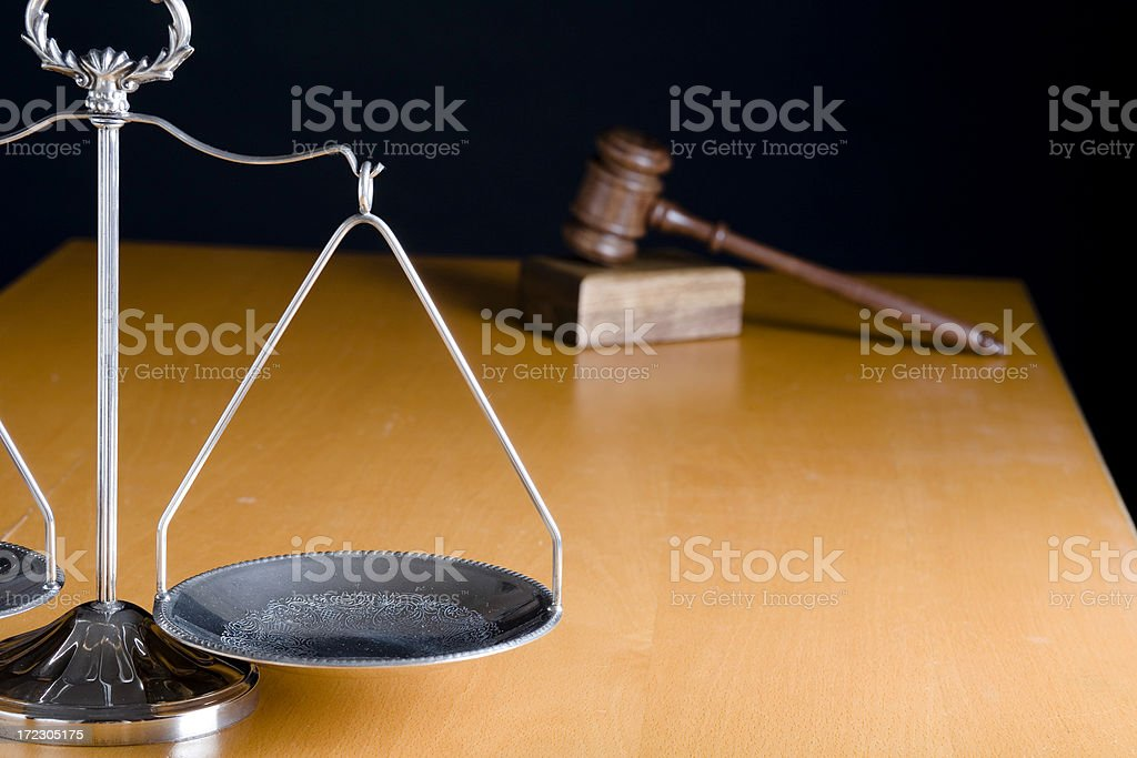 Court accessories royalty-free stock photo