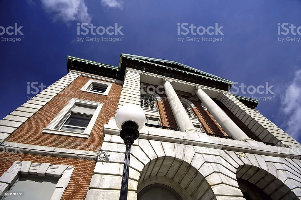 Court house royalty-free stock photo