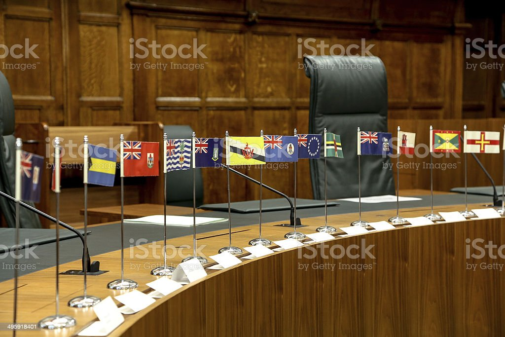 Court in London stock photo