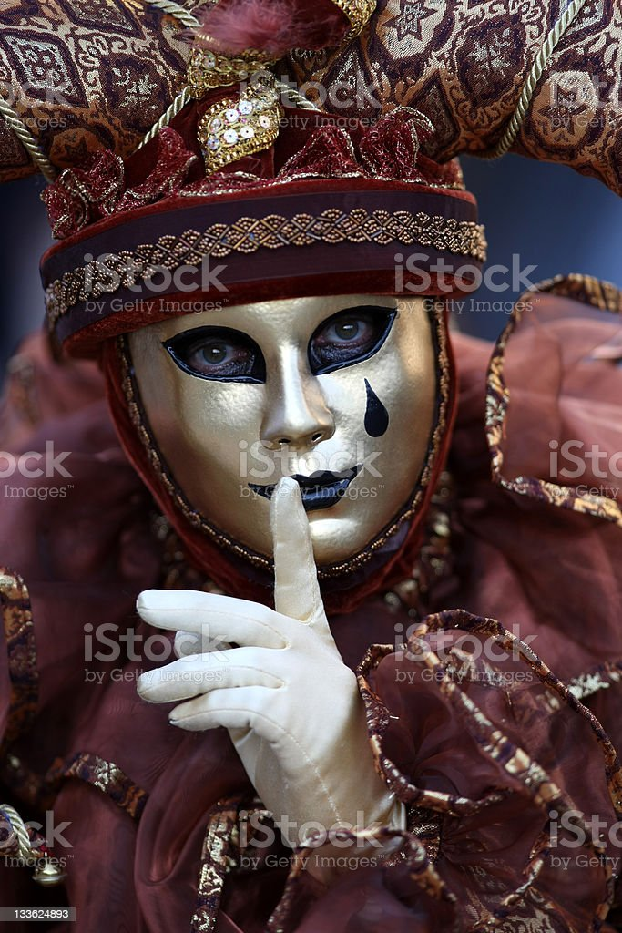 Court jester royalty-free stock photo